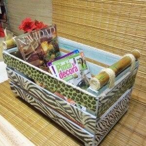 Коробки и ящики для журналов