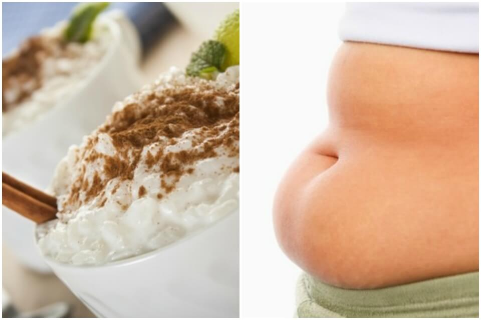 Рис с молоком поможет похудеть