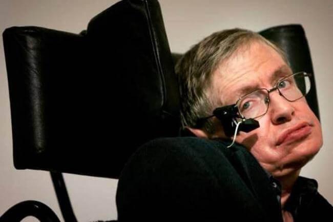 """Вдохновляющее послание Стивена Хокинга людям, которых депрессия затягивает в """"черную дыру"""""""