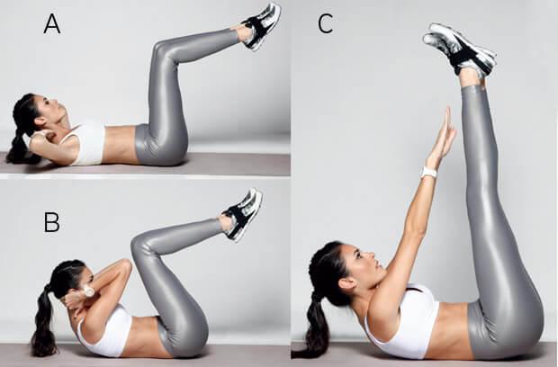 6 упражнений для укрепления мышц живота и повышения гибкости