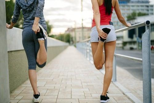 Упражнения и пяточная шпора
