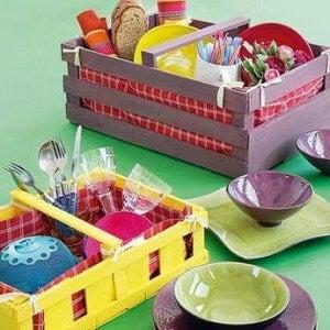 Ящики и органайзер для кухни
