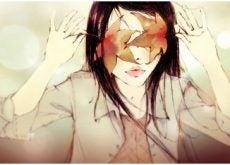 Девушка с листьями и отношения