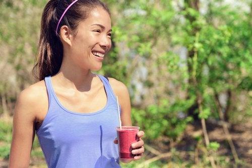 Один стакан сока из свеклы может повысить нашу физическую производительность
