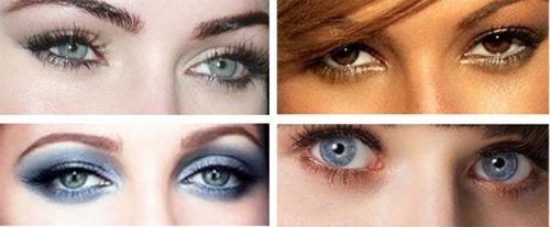 Форма глаз и взгляд