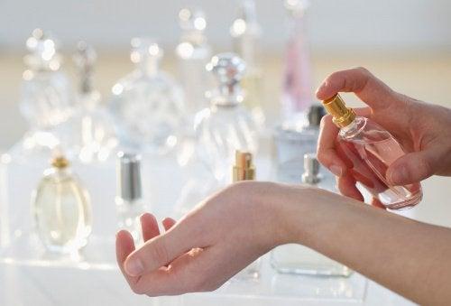 Ароматы свежести и парфюм
