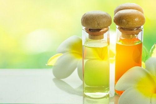 Ресницы и натуральные масла