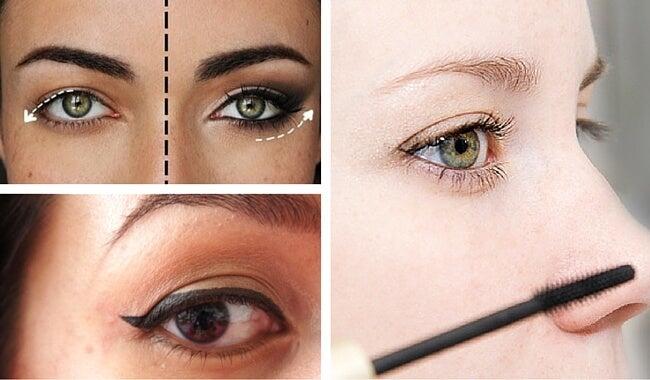 8 косметических трюков, которые помогут скрыть опущенные уголки глаз
