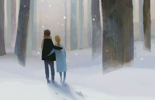 Любовь и прогулки вместе