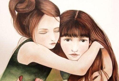 Сестра — больше, чем подруга! Это родственная душа, половина сердца!