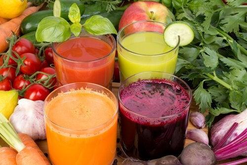 Овощные соки помогут Очистить организм от избытка сахара