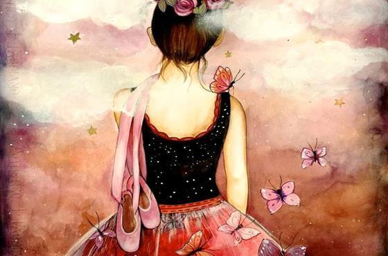 Женщина с пуантами за спиной и личное пространство