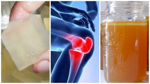 3 средства на основе желатина помогут если болят суставы