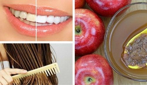 Яблочный уксус: 8 способов использования в косметических целях
