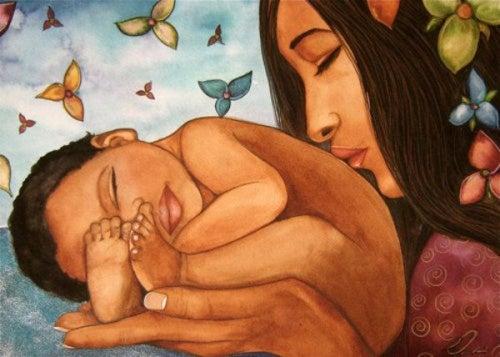 Быть матерью и семья