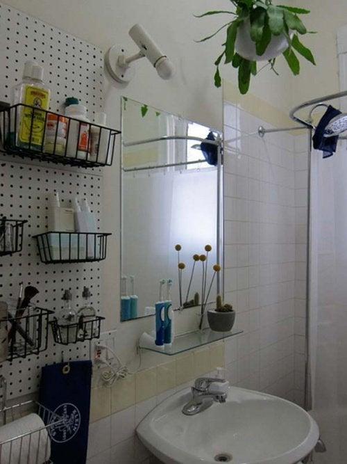 Ванная комната и навесные корзинки