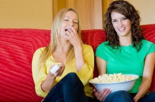 Попкорн и лишний вес