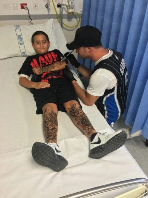 Ребенок и татуировки