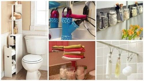 19 секретов, как увеличить полезную площадь ванной комнаты