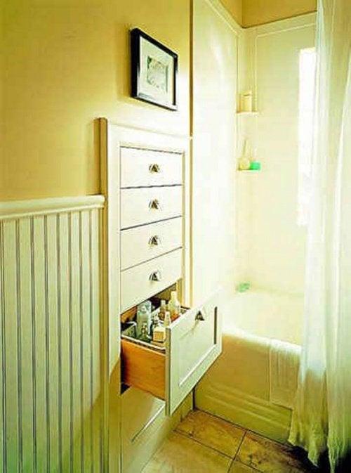 Ванная комната и встроенные ящики