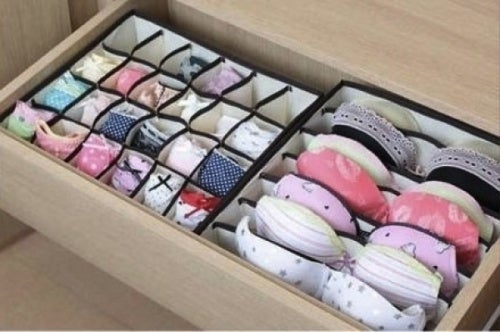 Органайзер для белья поможет организовать пространство для хранения вещей