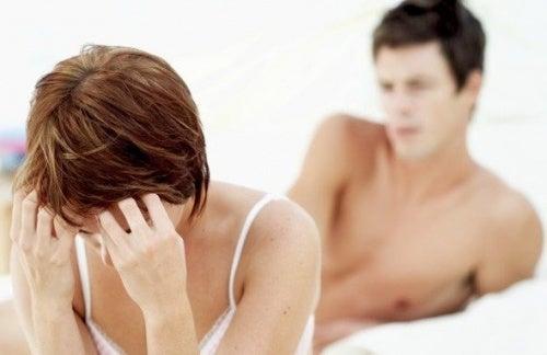 Симптомы эндометриоза: боль во время полового акта