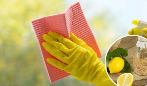 Стекла и зеркала можно чистить с помощью натуральных средств