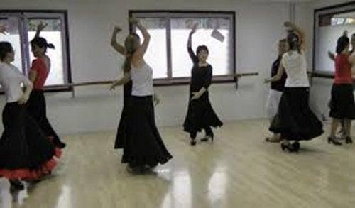 Фламенко укрепляет руки