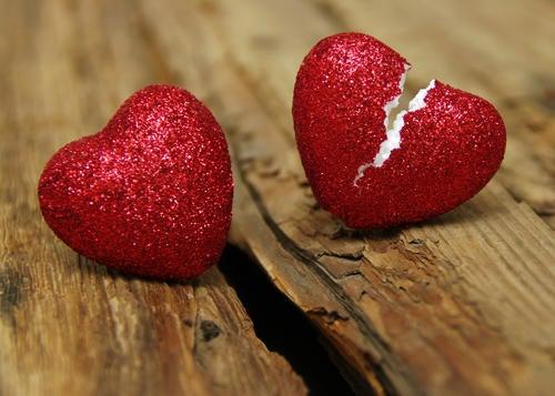 Любовь была и разбитое сердце