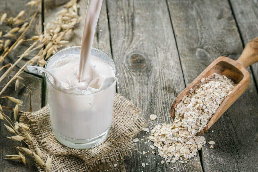 Молоко и овсянка
