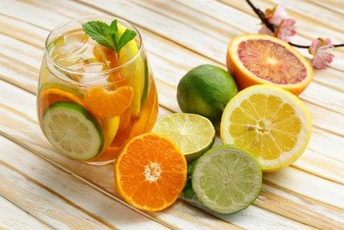 Цитрусовые и грейпфрут