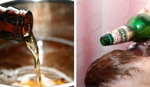 Пиво для кожи и волос: 6 лучших рекомендаций