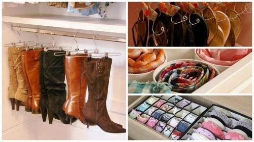 17 интересных идей, как организовать пространство и сэкономить место в шкафу