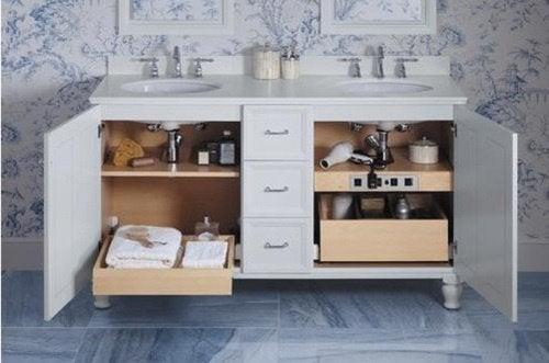Ванная комната и хранение под раковиной