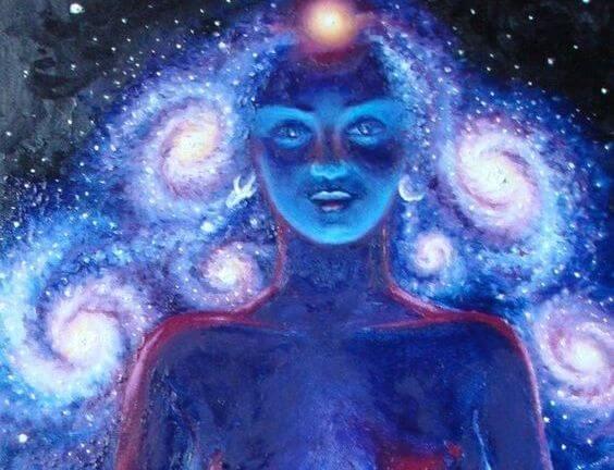Мистическая женщина
