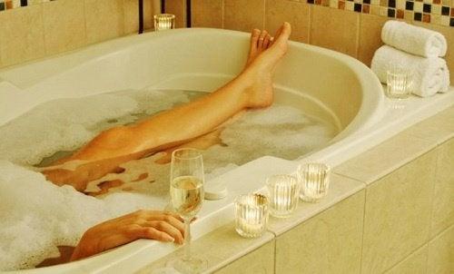 Ванна и интимная гигиена женщины