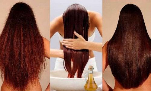 Яблочный уксус для красоты волос