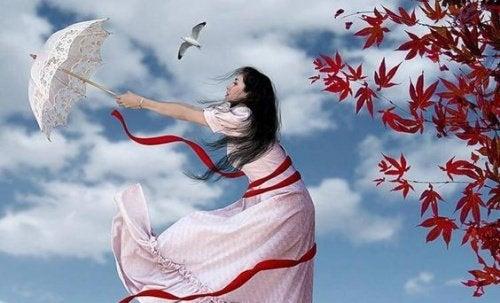 Ветер счастья и цветные зонты
