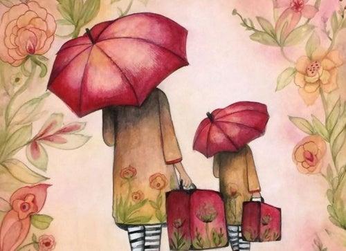 Зонт или как начать жить с нуля