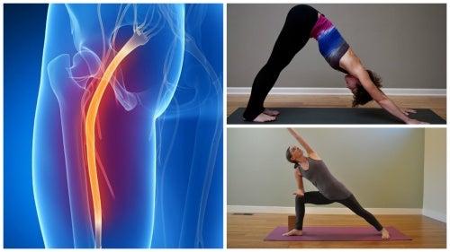 Воспаление седалищного нерва: как йога поможет облегчить боль