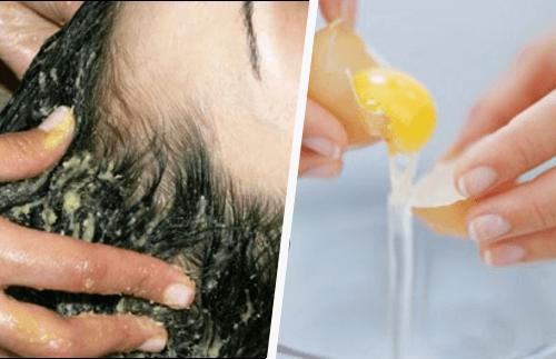 Кондиционер для волос на основе яиц