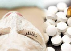 Аспирин и пилинг для лица
