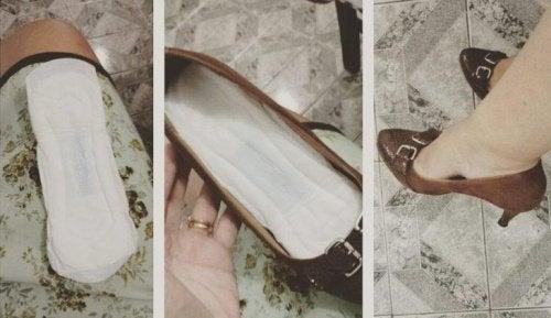 Двойные стельки сделают более удобной слишком широкую обувь