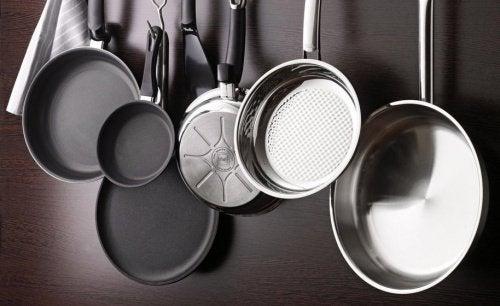 Сковорода и хранение