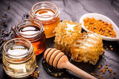 Мед и куркума