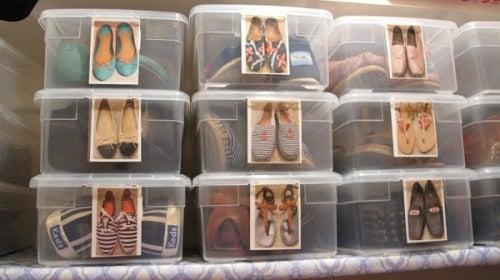 Коробки чтобы хранить обувь