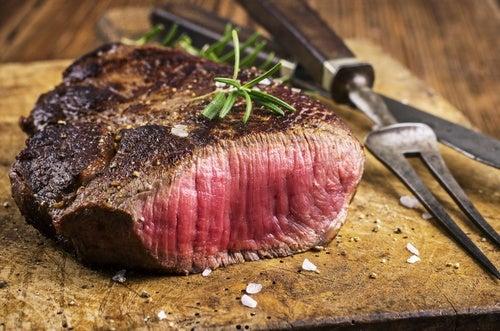 Красное мясо и рак