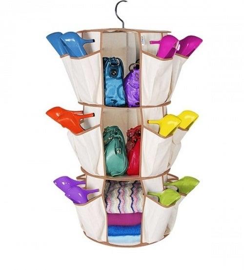 Органайзер поможет хранить обувь