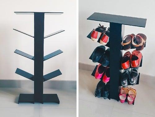 Полка чтобы хранить обувь
