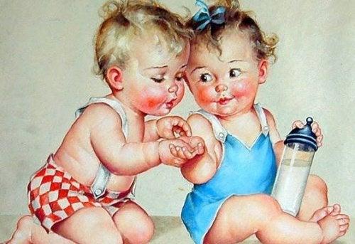 Счастливые дети: шумные, возбужденные, веселые и беспокойные!